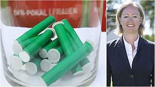 Renate Lingor lost erste Pokalrunde aus