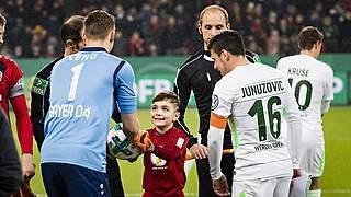 Balltrage- und Einlaufkind im DFB-Pokal: So läuft die Bewerbung
