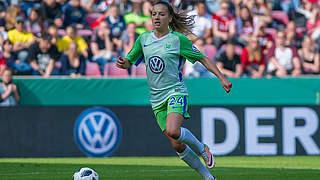 Nationalspielerin Wedemeyer verlängert bei Meister Wolfsburg