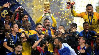 Frankreich zum zweiten Mal Weltmeister