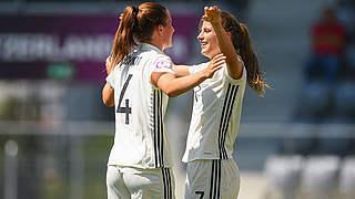 2:0 gegen Norwegen! U 19-Frauen greifen nach siebtem EM-Titel