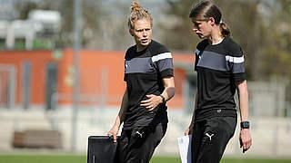 Trainerduo Kulig und Garefrekes: Mehr Spiele, höhere Qualität