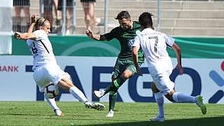 1:0 in Elversberg: Wolfsburg trifft spät