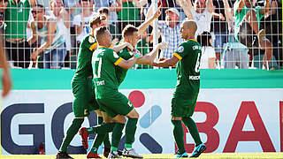 Sensation in der Nachspielzeit: Fünftligist Leipzig schlägt Regensburg