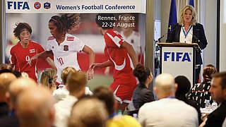 Führungskräfte des Frauenfußballs treffen sich in Rennes