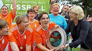 Video: Frauen des Teams Berlin holen Deutsche Meisterschaft der Werkstätten