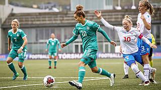 Magull ist Spielerin des Färöer-Spiels