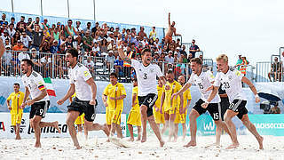 Penalty-Krimi: Beachsoccer-Nationalteam bleibt erstklassig