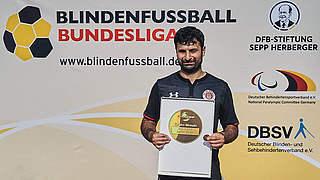 Celebi: Auszeichnung stellvertretend für alle Blindenfußballer