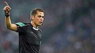 Hartmann pfeift VfB gegen Düsseldorf