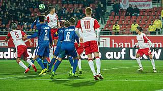 Nachholtermin für Halle gegen Rostock