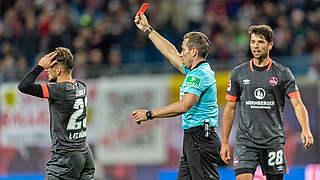 Ein Spiel Sperre für Nürnbergs Leibold