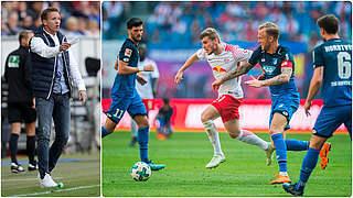 Nagelsmann im Duell mit seinem zukünftigen Klub