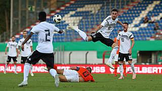 U 20 mit 1:1 im Länderspielklassiker gegen die Niederlande