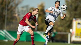U 17 spielt 1:1 gegen Dänemark
