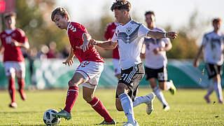 U 17 gewinnt zweites Dänemark-Spiel