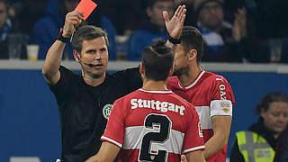 Zwei Spiele Sperre und 10.000 Euro Geldstrafe für Stuttgarts Insua