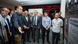 Julius Hirsch Ehrenpreis nach Argentinien