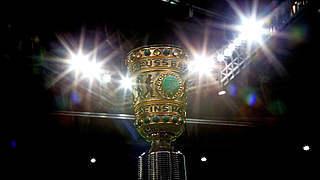 Achtelfinale: Hier ist der DFB-Pokal zu sehen