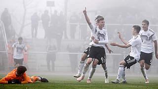 Video: U 16 siegt 7:0 gegen Tschechien