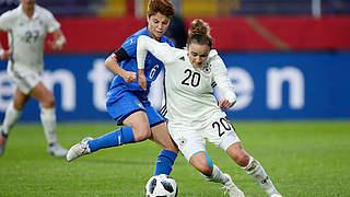 Magull ist Spielerin des Italien-Spiels
