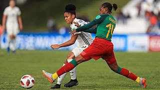 U 17 verliert unglücklich gegen Kamerun