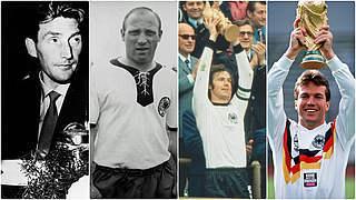 Die erste Elf mit DFB-Ehrenspielführern