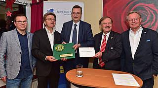 Reinhard Grindel besucht SC Pinneberg