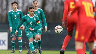 U 15 siegt zum Jahresabschluss in Belgien
