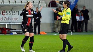 Ein Spiel Sperre für Leverkusenerin Vinken