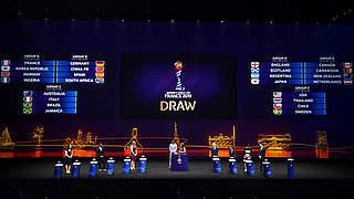 WM-Auslosung: Deutschland gegen China, Spanien und Südafrika