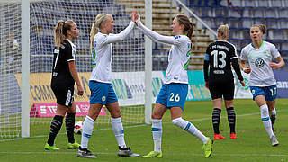Wolfsburg und München mit Kantersiegen
