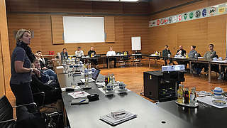 Tagung: Hrubesch übergibt Staffelstab an Voss-Tecklenburg