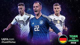 UEFA-Team des Jahres: Jetzt für Nationalspieler abstimmen