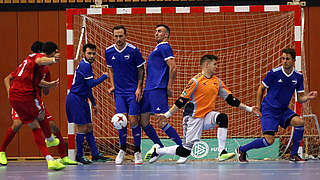 Futsal-Auswahlturnier: Hamburg verteidigt Tabellenführung