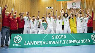 Futsal-Auswahlturnier: Berlin triumphiert, Loosveld zufrieden