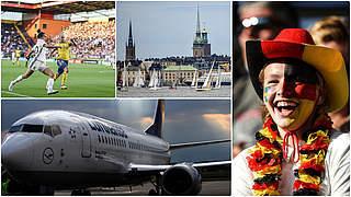 Reiseangebot zum Frauenspiel in Stockholm