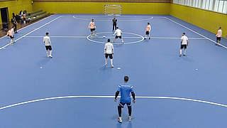 So trainiert die Futsal-Nationalmannschaft
