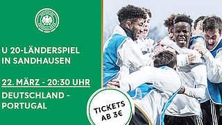 Tickets fürs Portugal-Spiel in Sandhausen