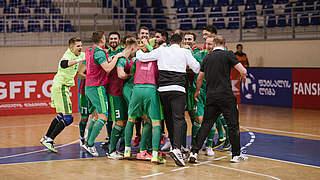 Ausgleich neun Sekunden vor Schluss: Futsalteam kommt weiter