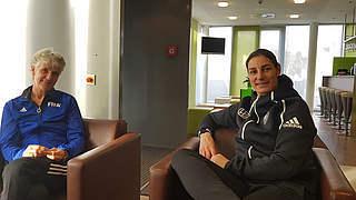 FIFA-Mentorenprogramm: Bernhard und Sundhage lernen voneinander