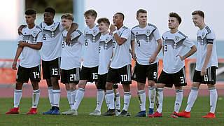 U 16 gegen Portugal um den Turniersieg