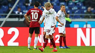 Drei Spiele Sperre für Nürnbergs Rhein