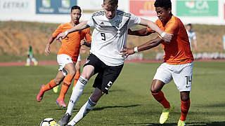 U 17 verliert auch gegen die Niederlande