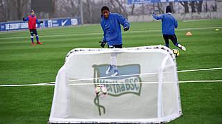 Trainingsvideo: Hertha spielt in der Wabe