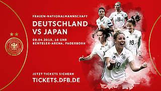 Heimpremiere für Voss-Tecklenburg: Vorverkauf fürs Japan-Spiel