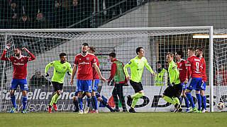 Wehen Wiesbaden springt auf Rang drei