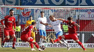 Doppelschlag ebnet Rostocker Auswärtssieg