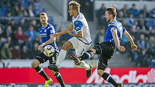 Ein Spiel Sperre für Bielefelds Börner