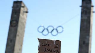 Pokalfinale in Berlin: Warnung vor inoffiziellen Ticketmärkten